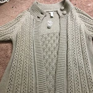 Chico's heavy Knit sweater. NWOT
